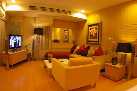 Superbly designed and furnished ground floor condominium