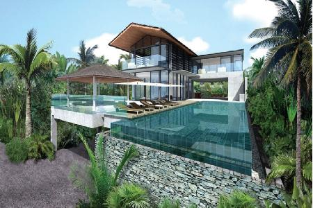 Luxury Villas with Sea-View, New Development at Natai, Phang Nga, Phuket