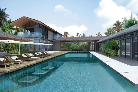 Luxury Villas with Sea-View, New 4