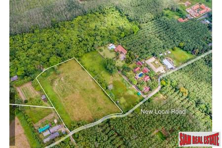 10 Rai of Land For Sale at the Quiet Area of Thalang, Phuket