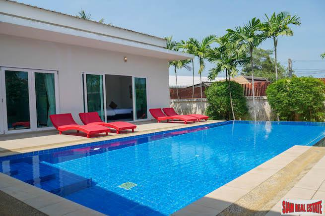 Stunning Pool Villa For Long Term Rent Near Boat Lagoon, Phuket