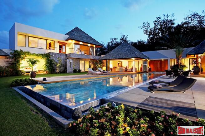 4 and 5 Bedroom Luxury Villas within a Development in the Hills of Cherng Talay area, Phuket