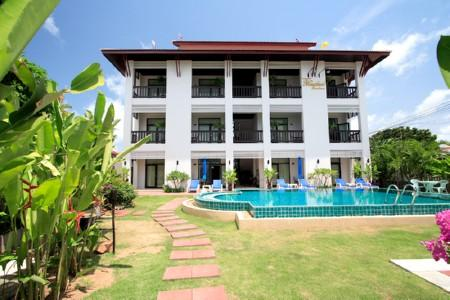 One Bedroom Apartments within a Guesthouse with Swimming Pool For Long Term Rent at Rawai, Phuket