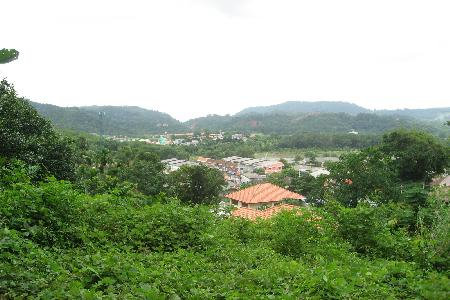 6 Rai of Hillside Land For Sale at Kathu, Phuket