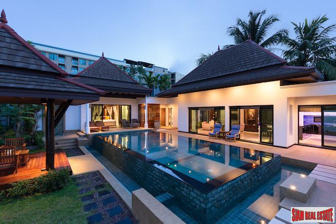 Baan Thai Surin Garden | Stylish Three Bedroom Pool Villa near Surin Beach