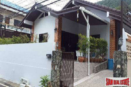 Modern One-Storey House with a Private Swimming Pool for sale at Patong, Phuket