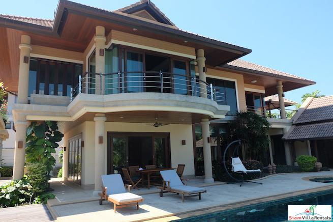 Large Prestigious Two Bedroom Sea View Villa for Holiday Rental in Rawai