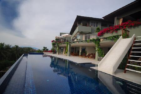 Large Luxury Family Villa Over Looking the Ocean, Choengmon, Koh Samui, Choengmon, Samui