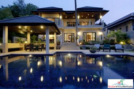 Six Bed Luxury Family Villa, Nai Harn, Phuket
