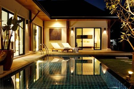 Brand New 4 Bedroom Pool Villa with External Jacuzzi for Holiday Rent at Layan, Phuket