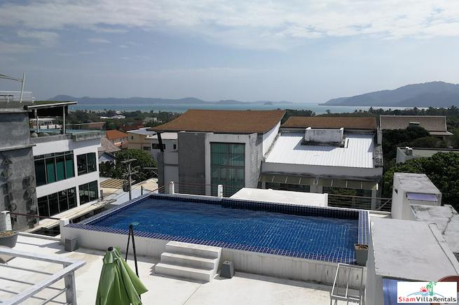 4 Bedroom Townhouse with Communal Swimming Pool and Sea-View For Rent at Rawai, Phuket