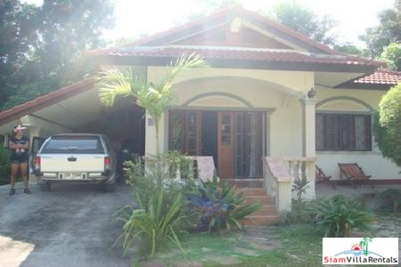 Unique Thai Style House with Two Bedrooms For Long Term Rent in Nai Harn