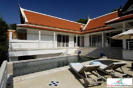 3 Bedroom Houses within a Development with Private Pools and Sea-Views For Long Term Rent at Kata