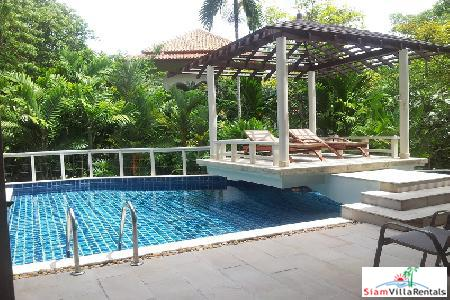 4 Bedroom Modern Sea-View Pool Villa within a New Development for Long Term Rent at Kata