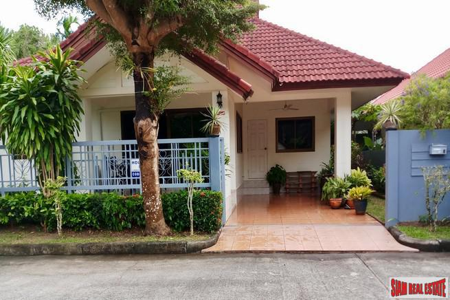 Cosy 3 Bedroom Bungalow on a Quiet Estate for Long Term Rent, 10 Minutes from Phuket Airport
