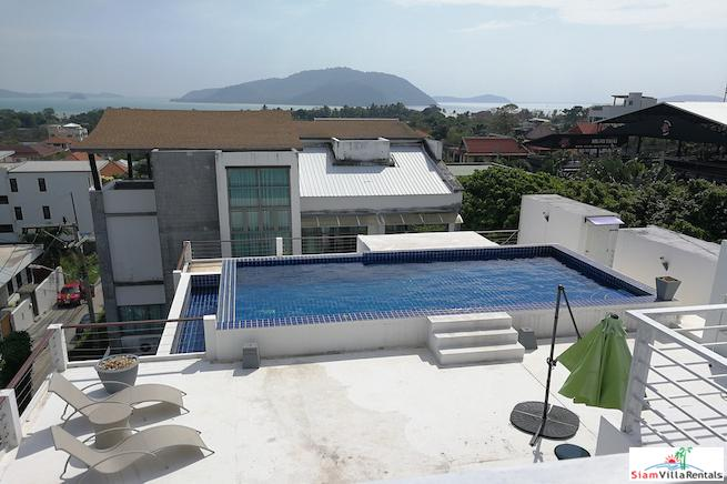 Sea View Townhouse with Roof Top Pool at Rawai, Phuket