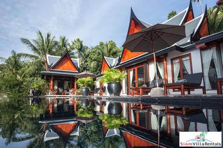 Ayara Surin - Magnificent Thai Style Villa Overlooking Surin and Bang Tao Beaches