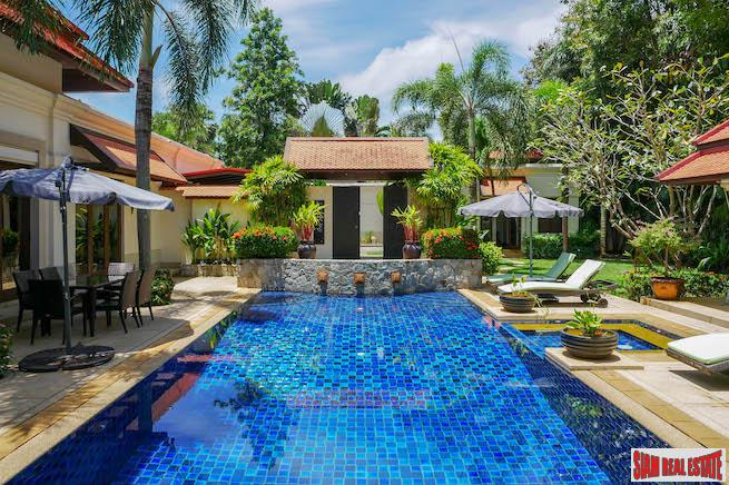 4 Bedroom Villa with a Private Swimming Pool for Rental at Laguna