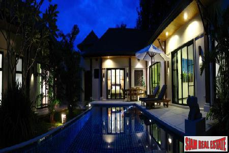 Luxury Four Bedroom Pool Villa For Sale at Nai Harn
