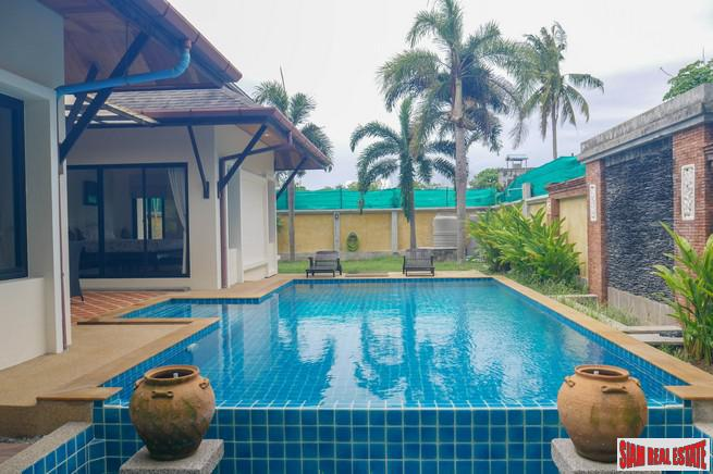 Luxury Three Bedroom Pool Villa for Rental at Rawai