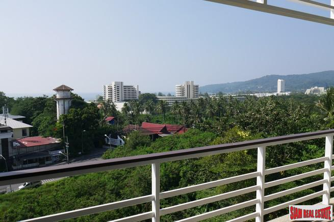 Stylish One Bedroom Condo with Elevated Sea Views at Karon for Sale