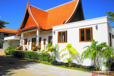 Brand New Modern Thai Property with a Private Swimming Pool For Sale at Nai Harn