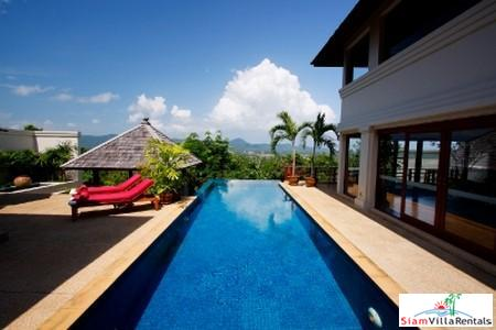 Masterful Three Bedroom Sea-View House with Private Pool For Rent at Layan