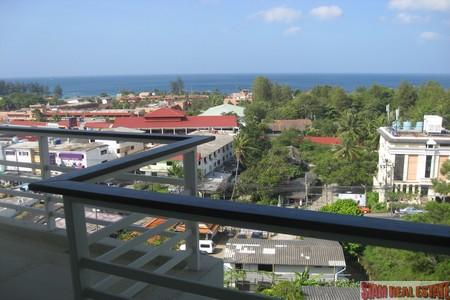 Spacious  Two Bedroom Sea-View Condominium at Karon For Sale