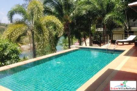 Picturesque Pool Villa With River and Mountain Views For Holiday Rental at Layan