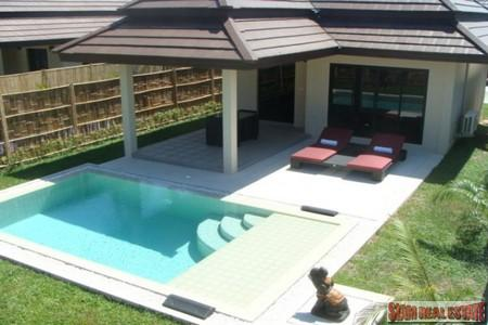 Quaint One Bedroom Pool Villa Available to Rent at Nai Harn
