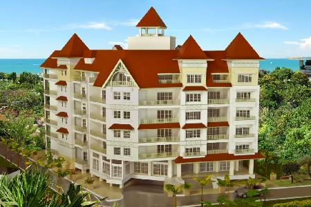 New Condominium 6 storey With The Architecture of Normandy in Pattaya