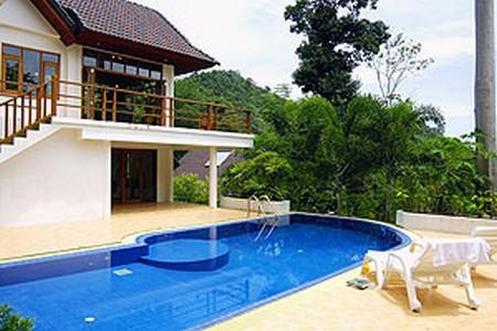 High Class Four Bedroom Sea-View House For Rent at Patong