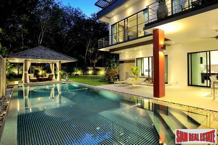 Brand New Mountain View Development – Four bed pool villa for sale at Laguna