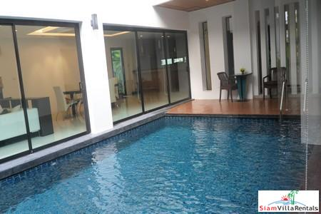 Three Bedroom House with a Private Pool in a Quiet Location on By Pass Road For Rent