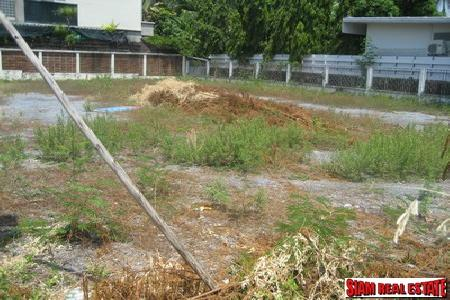One of beautiful piece of Land for sale, in heart of Sukhumvit road, 190 sq.w. in residential area, Closed to Sukhumvit 55