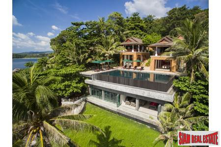 Beautiful Modern Thai Villa with Unobstructed Sea-Views For Sale at Kata