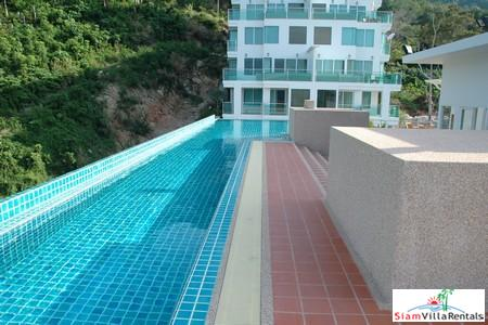 Brand New Modern One Bedroom Apartment with Sea-Views and Communal Facilities at Patong For Rent