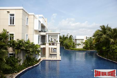 Brand New Condominium with the access to 5-star hotel resort facilities on the beach.