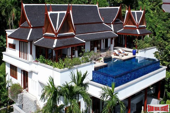 Modern Tropical Five Bedroom House with Sea-Views For Long Term Rent at Surin