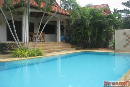 Modern Three Bedroom Pool Villa For Long Term Rent at Nai Harn