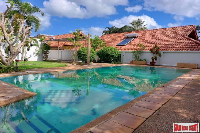 Three Bedrooms Pool Villa within a Peaceful Environment at Nai Harn For Rent