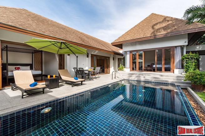 Two Bedroom Thai Bali Pool Villa For Sale in Rawai, Phuket - No Estate Fees, Fully Managed and Rented at 6.5% net Return in 2018