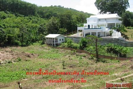 Three Rai of Prime Land For Sale and Already Cleared at Layan