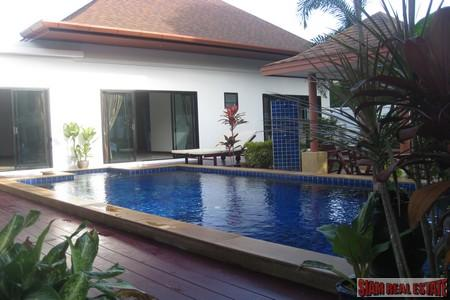 Modern Three Bedroom Pool Villa at Rawai For Sale