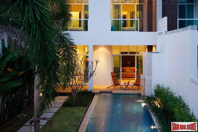Two Villas - Oxygen Bang Tao | Luxurious Four Bedroom Duplex Home with Private Pools For Rent at Bang Tao