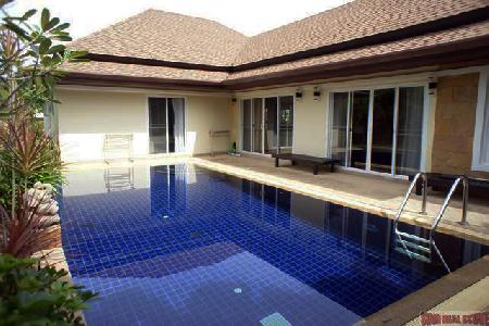 Modern Pool Villa with Three 3