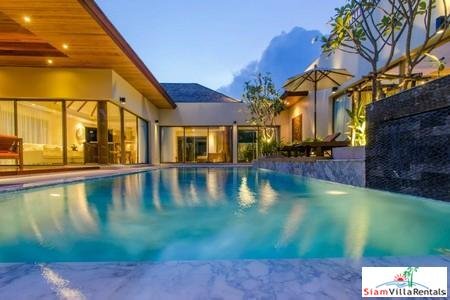 Luxury Three Bedroom Pool Villa within a New Development For Holiday Rental at Layan, Phuket