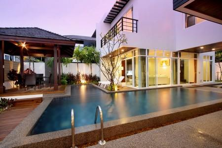 Modern House with Sea-Views and a Swimming Pool on a New Development For Long Term Rental at Rawai, Phuket