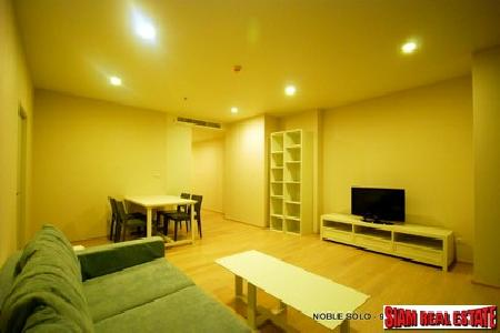 Noble Solo | Fully Furnished 1 Bedroom, 1 bathroom Condominium for Rent on Sukhumvit 55