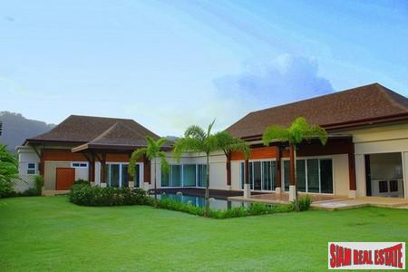 Thai Balinese Style 4 Bedroom Villa with Pool in Thalang